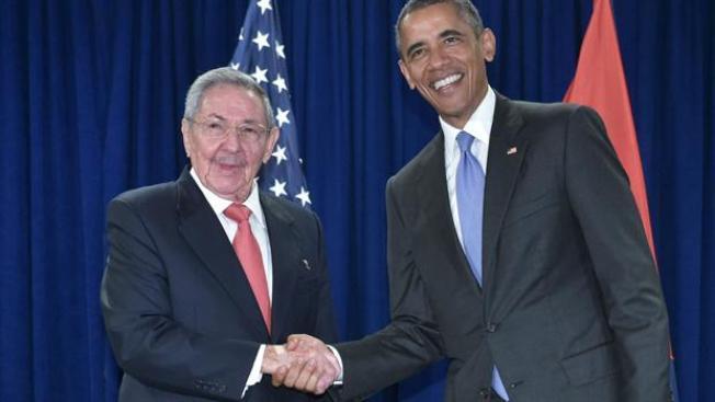Se reúnen Raúl Castro y Obama en la ONU