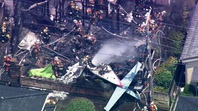 Mueren tres personas al estrellarse avioneta