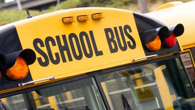 Niños heridos en accidente de autobús escolar