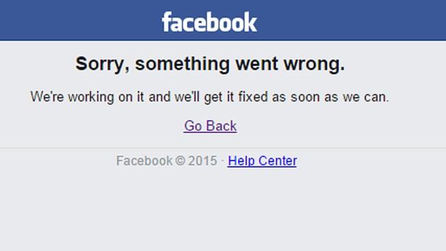 Facebook se cae por segunda vez en una semana