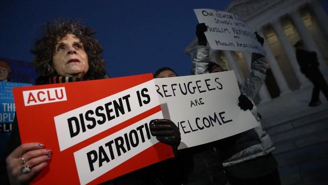 Inminente fallo de la Corte Suprema sobre veto migratorio