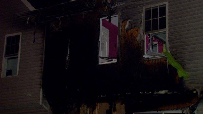 Incendio destruye casa al norte de Filadelfia