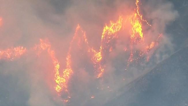 Incendio forestal arrasa en estado de Washington