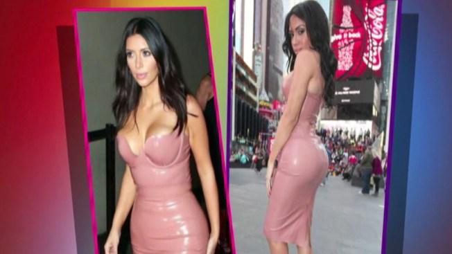 Mujer transgénero es la doble de Kim Kardashian