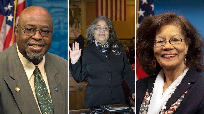Acusan de soborno a trío de legisladores