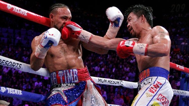 Imparable y feroz: Pacquiao derrota a Thurman