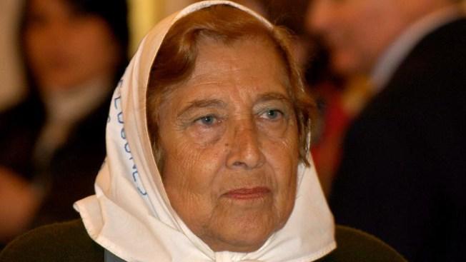 Falleció la presidenta de Madres de Plaza de Mayo Línea Fundadora