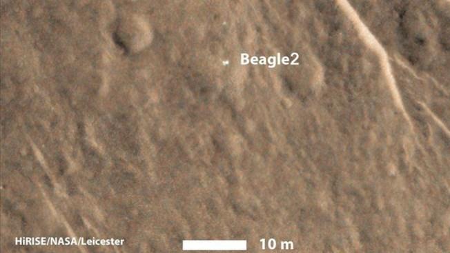 Ubican sonda en Marte después de más de 10 años