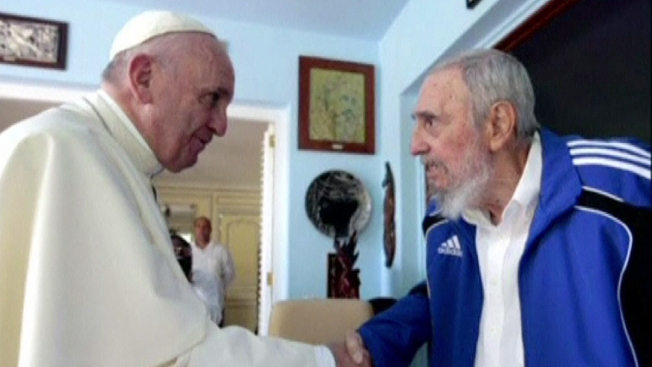 El Papa Francisco se reúne con Fidel Castro