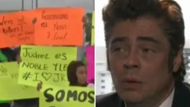 """Protestan en Juárez contra película """"Sicario"""""""