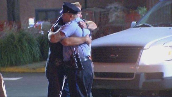 Vivo de milagro policía de Filadelfia