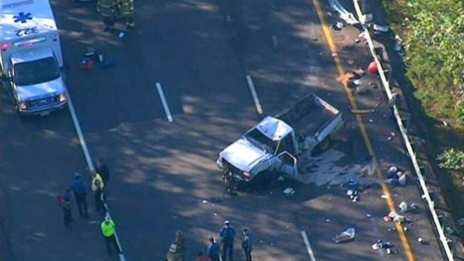 Un muerto y cinco heridos tras accidente