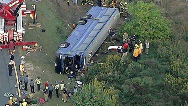 Dos muertas y 48 heridos tras accidente