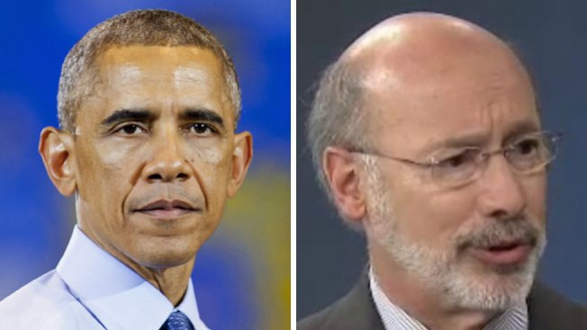Obama apoyará a Wolf en Filadelfia