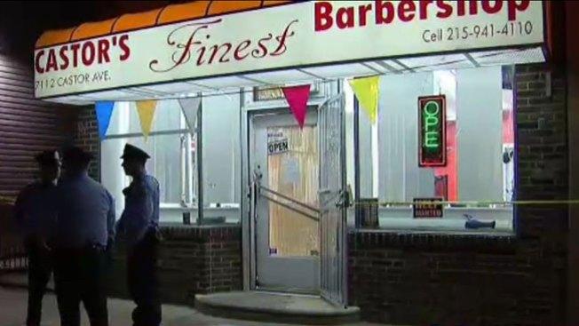 Barbero baleado en su negocio