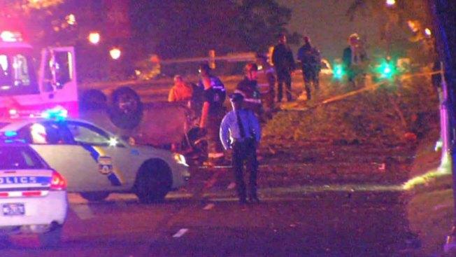 Accidente fatal deja auto en pedazos