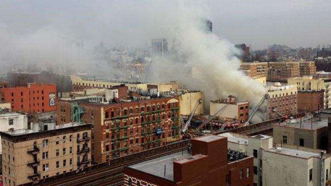 Al menos 2 muertos por derrumbe en NY