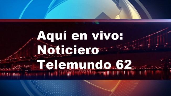 Noticiero Telemundo 62 a las 6:00 p.m.