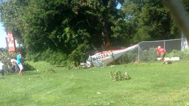 Helicóptero se estrella en Jersey Shore
