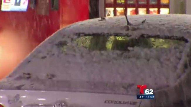 Nieve cubre a Pensilvania y Nueva Jersey