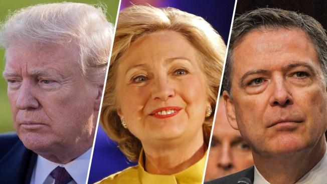 NYT: Trump quería que se juzgara a Hillary Clinton y Comey