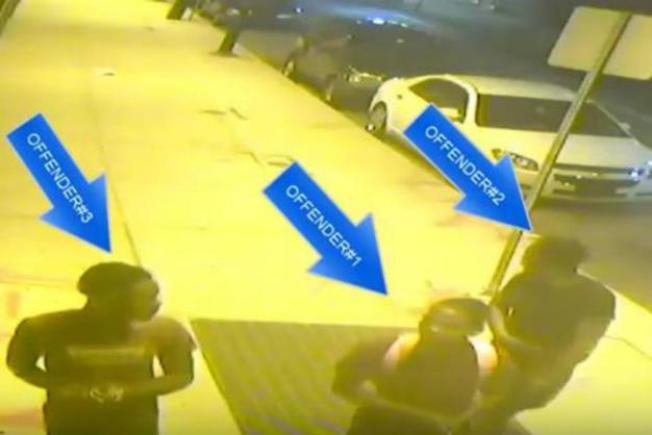Adolescentes armados amedrentan taxistas