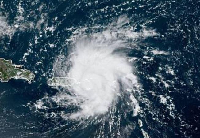 Dorian dejó pocos aguaceros sobre Puerto Rico