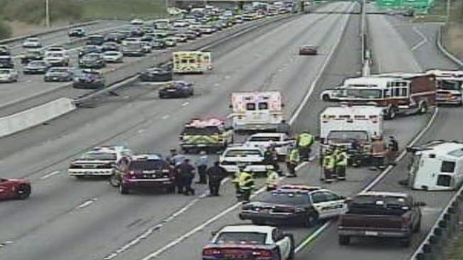 Dos heridos en accidente en Delaware County