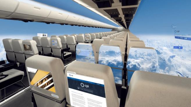 ¿Te subirías a un avión transparente?