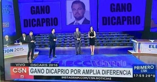 Memes del Oscar celebran el premio de Leonardo DiCaprio